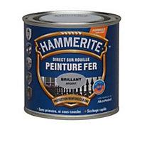 Peinture fer antirouille argent brillant Hammerite 2,5L