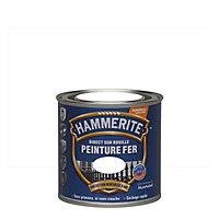 Peinture fer antirouille blanc brillant Hammerite 250ml