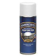 Peinture fer antirouille blanc brillant Hammerite 400ml