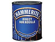 Peinture fer antirouille blanc cassé brillant Hammerite 2,5L