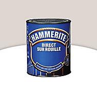 Peinture fer antirouille blanc cassé brillant Hammerite 250ml