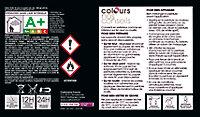 Peinture fer antirouille Colours effet forgé noir 0,25L