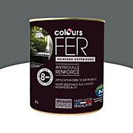Peinture fer antirouille Colours granit satin 2L