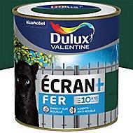 Peinture fer antirouille Dulux Valentine Ecran+ vert basque brillant 0,5L