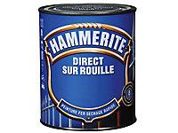 Peinture fer antirouille gris anthracite brillant Hammerite 0,75L