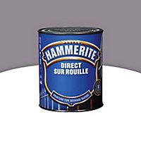 Peinture fer antirouille gris nuage brillant Hammerite 2,5L