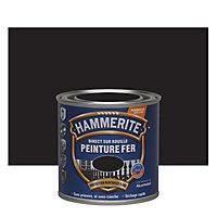 Peinture fer antirouille noir brillant Hammerite 250ml