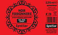 Peinture fer antirouille noir brillant Syntilor 125ml