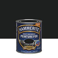 Peinture fer antirouille noir satiné Hammerite 750ml