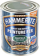 Peinture fer antirouille vert épicéa martelé Hammerite 750ml