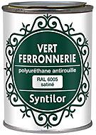 Peinture fer antirouille vert satiné Syntilor 250ml