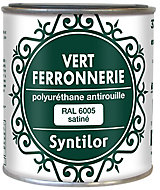 Peinture fer antirouille vert satiné Syntilor 375ml
