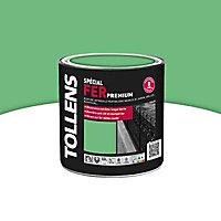 Peinture fer extérieur/intérieur vert golf brillant Tollens 0,5L