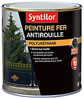 Peinture fer Syntilor Ultra Protect blanc satin 0,5L