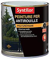 Peinture fer Syntilor Ultra Protect noir mat 0,5L