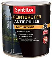 Peinture fer Syntilor Ultra Protect noir satin 1,5L
