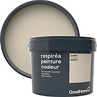Peinture GoodHome Respiréa beige Puebla satin 2,5L