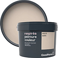 Peinture GoodHome Respiréa beige Santa Fe satin 2,5L