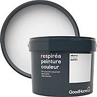 Peinture GoodHome Respiréa blanc Alberta satin 2,5L
