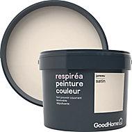 Peinture GoodHome Respiréa blanc Juneau satin 2,5L