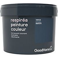 Peinture GoodHome Respiréa bleu Vence satin 2,5L