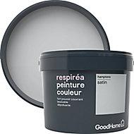 Peinture GoodHome Respiréa gris Hamptons satin 2,5L