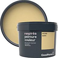 Peinture GoodHome Respiréa jaune Santiago satin 2,5L