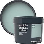 Peinture GoodHome Respiréa vert Artane satin 2,5L