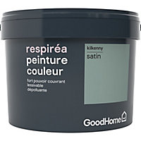Peinture GoodHome Respiréa vert Kilkenny satin 2,5L