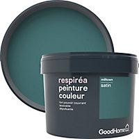 Peinture GoodHome Respiréa vert Milltown satin 2,5L