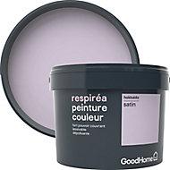 Peinture GoodHome Respiréa violet Hokkaido satin 2,5L