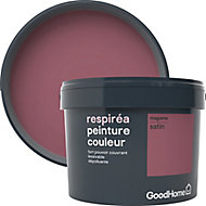 Peinture GoodHome Respiréa violet Magome satin 2,5L