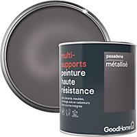 Peinture haute résistance multi-supports GoodHome argent Pasadena métallisé 0,75L