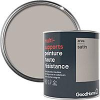 Peinture haute résistance multi-supports GoodHome beige Arica satin 0,75L