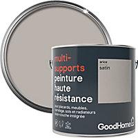 Peinture haute résistance multi-supports GoodHome beige Arica satin 2L