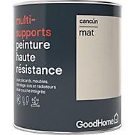 Peinture haute résistance multi-supports GoodHome beige Cancún mat 0,75L