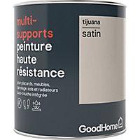 Peinture haute résistance multi-supports GoodHome beige Tijuana satin 0,75L