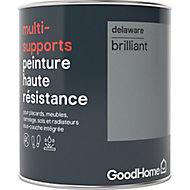 Peinture haute résistance multi-supports GoodHome gris Delaware brillant 0,75L