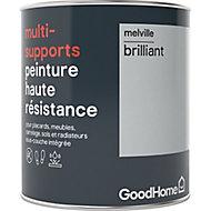 Peinture haute résistance multi-supports GoodHome gris Melville brillant 0,75L