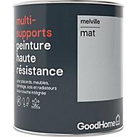 Peinture haute résistance multi-supports GoodHome gris Melville mat 0,75L