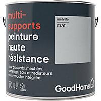 Peinture haute résistance multi-supports GoodHome gris Melville mat 2L