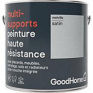 Peinture haute résistance multi-supports GoodHome gris Melville satin 2L