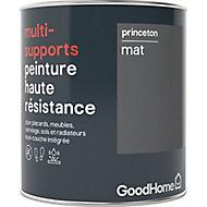 Peinture haute résistance multi-supports GoodHome gris Princeton mat 0,75L