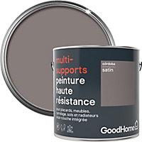 Peinture haute résistance multi-supports GoodHome marron Córdoba satin 2L