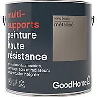 Peinture haute résistance multi-supports GoodHome or Long Beach métallisé 2L