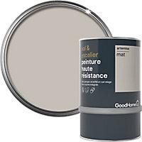 Peinture haute résistance sol et escalier GoodHome beige Artemisa mat 0,75L