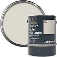 Peinture haute résistance sol et escalier GoodHome blanc Canby mat 2L