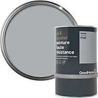 Peinture haute résistance sol et escalier GoodHome gris Bronx mat 0,75L