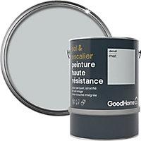 Peinture haute résistance sol et escalier GoodHome gris Denali mat 2L