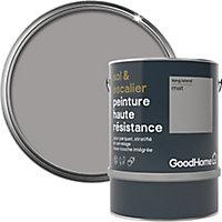 Peinture haute résistance sol et escalier GoodHome gris Long Island mat 2L